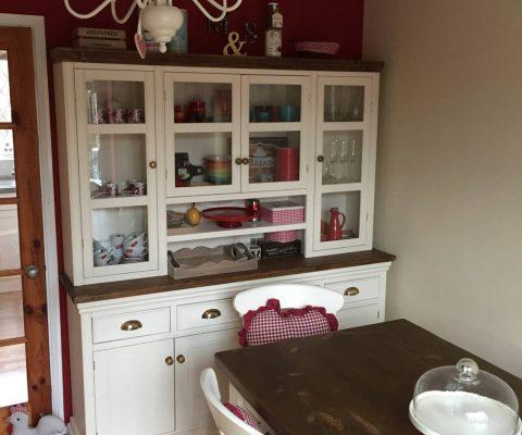 Handcrafted farmhouse dresser