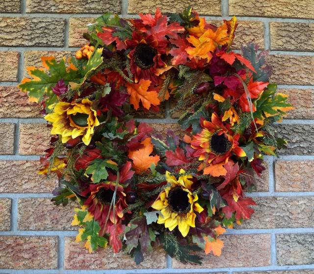 autumn/fall wreath